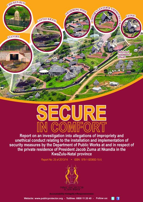 nkandla report cover